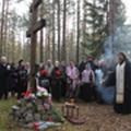 Духовник СПбПДА и семинаристы побывали на месте массовых расстрелов репрессированных