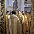 В Санкт-Петербургской духовной академии отслужили литургию святого апостола Иакова