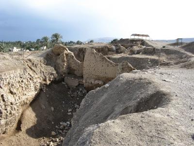 Раскоп в Иерихоне