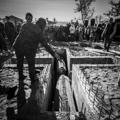 Павших воинов Великой отечественной войны перезахоронили рядом с православным храмом