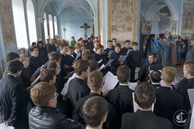 мужской хор СПбПДА