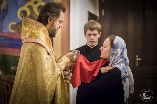 Нижний храм Санкт-Петербургской духовной академии