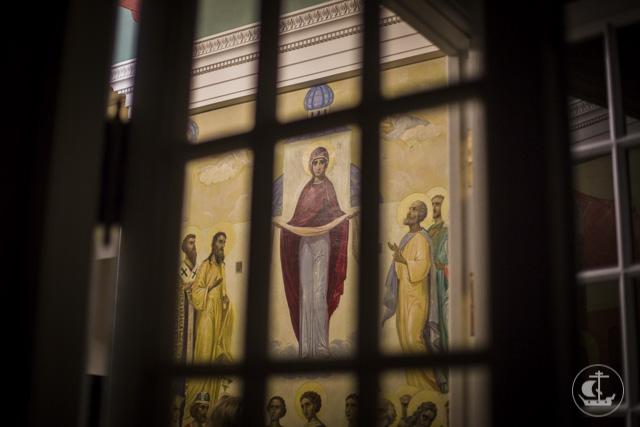 Успенский храм духовной академии