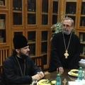 Архиепископ Амвросий посетил Богословский факультет имени Патриарха Юстиниана Бухарестского университета (Румынская Православная Церковь)