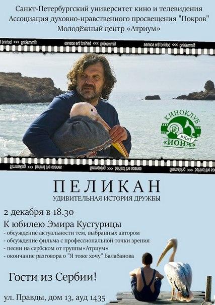 Прошёл киноклуб посвящённый юбилею Эмира Кустурицы.