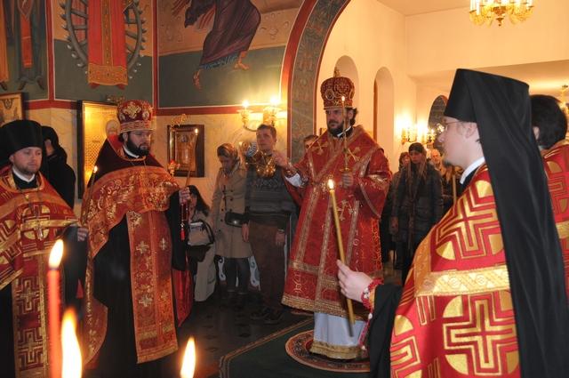 Архиепископ Петергофский Амвросий в Риме