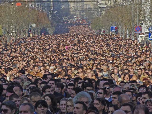 Похороны Патриарха Павла. Белград, Сербия