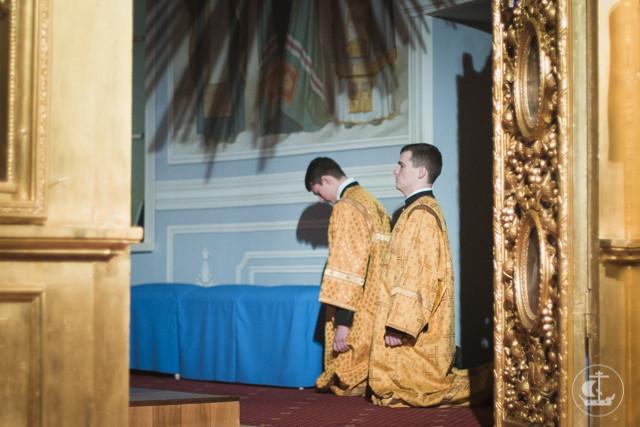 Духовная академия начинает подготовку к Великому посту