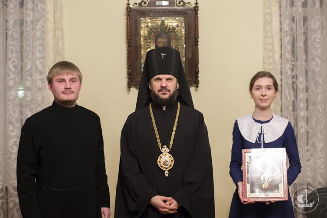 Архиепископ Амвросий благословил учащихся академии на супружество
