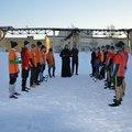 Студенты духовной академии посетили Колпинскую воспитательную колонию и сыграли в футбол