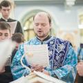 Накануне праздника Сретения Господня Архиепископ Амвросий совершил всенощное бдение в академическом храме