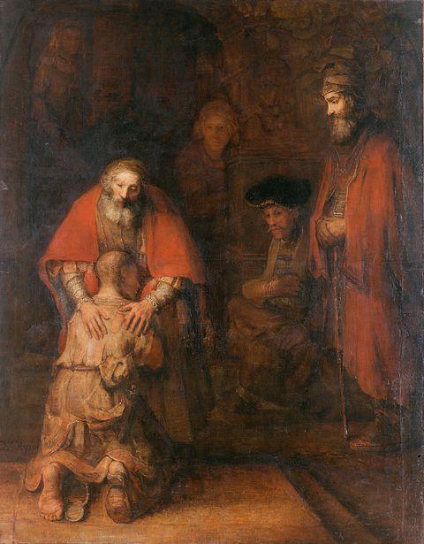 Рембрандт. Возвращение блудного сын