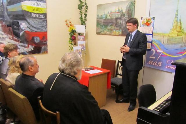 Преподаватели Академии приняли участие в вечере, посвященном святителю Николаю Японскому.