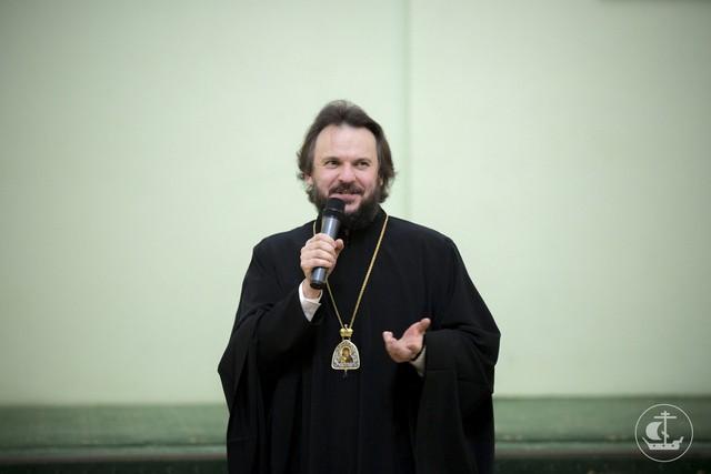 Духовная академия встретила широкую масленицу