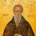 Петр Филонов. Преподобный Иоанн Лествичник