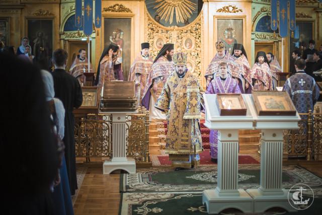 В Неделю святителя Григория Паламы в академическом храме совершены священническая и диаконская хиротонии
