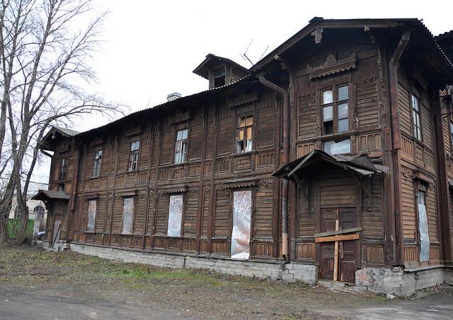 Будущее здание кризисного центра для бездомных на Обводном канале. Фото: © Мария Гулая / ocbss-spb.cerkov.ru