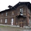 удущее здание кризисного центра для бездомных на Обводном канале. Фото: © Мария Гулая / ocbss-spb.cerkov.ru