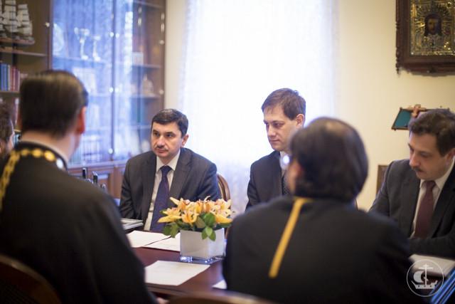 В Духовной академии прошло второе заседание координационной группы теологического совета Санкт-Петербургской митрополии