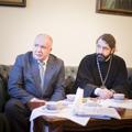 Архиепископ Амвросий и директор «Нового поколения» М.Г. Дмитриев обсудили проблемы педагогики и вопросы сотрудничества