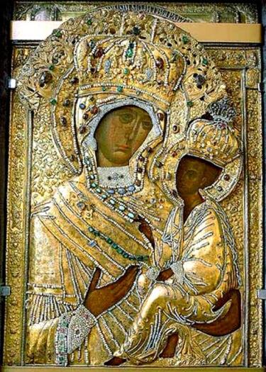 Священник Константин Костромин. Почитание Тихвинской иконы Божией Матери на Северо-Западе России