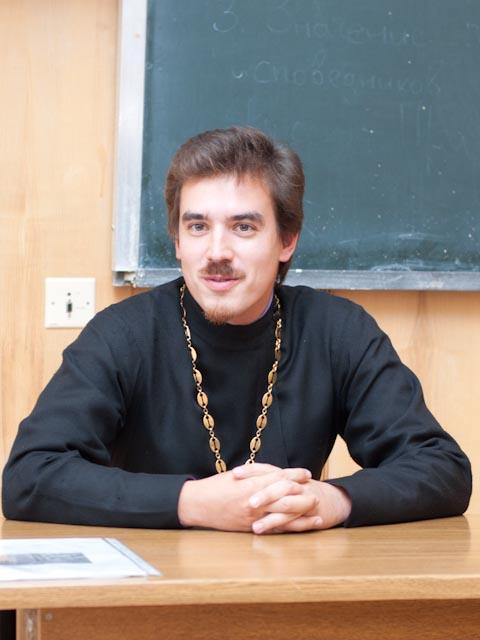 Священник Константин Костромин. Об аспирантуре