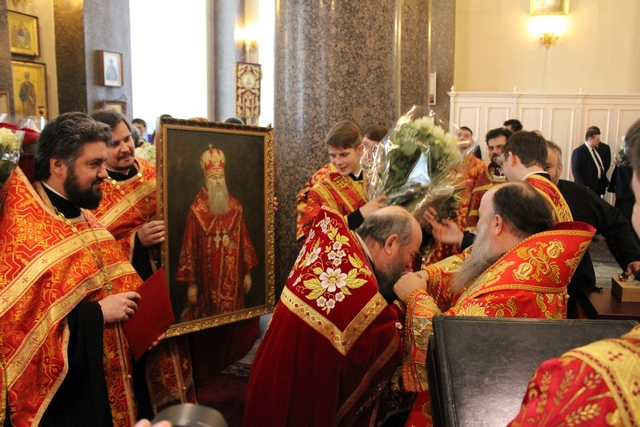 Представители Духовной академии поздравили митрополита Варсонофия с днем тезоименитства