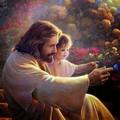 Христос за пазушкой