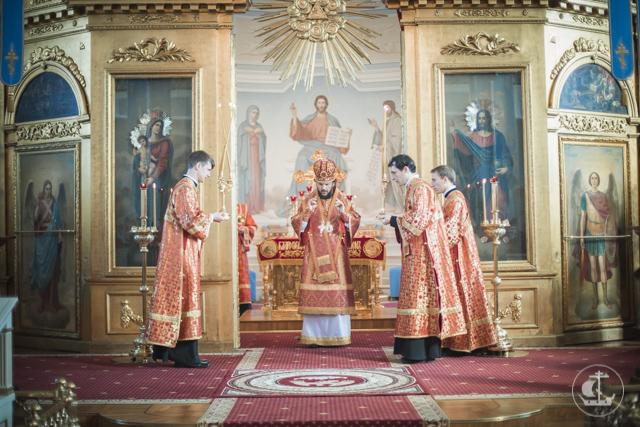 В храмах Духовной академии прошли богослужения Недели о самаряныне