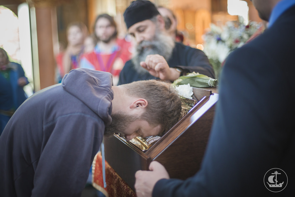 Мощи великомученика Георгия Победоносца покинули Северную столицу