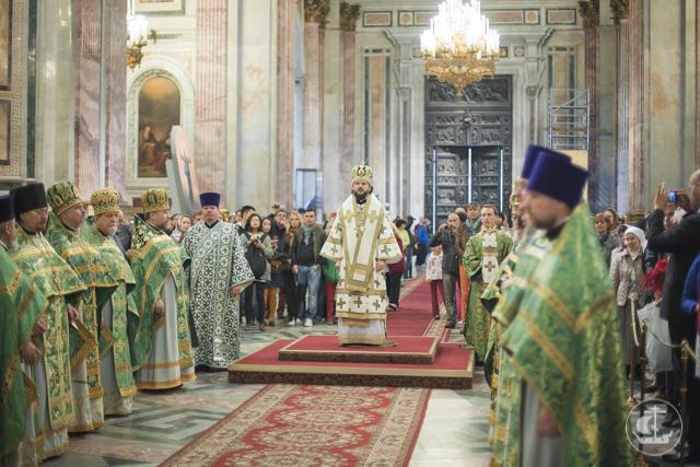 «Всемирный светильник». Санкт-Петербург празднует день памяти преподобного Исаакия Далматского
