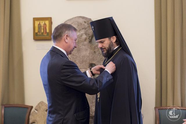 Архиепископ Амвросий награжден орденом Дружбы