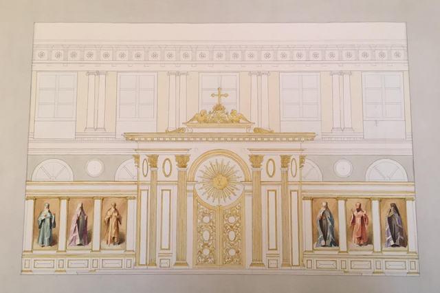 В Академии состоялась вторая встреча по воссозданию интерьера храма Двенадцати апостолов