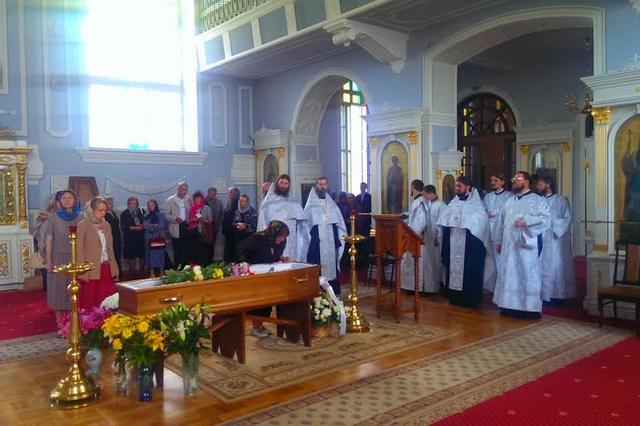 В Духовной академии прошло отпевание почившей преподавательницы Регентского отделения