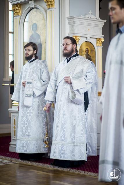 В Духовной академии прошло отпевание новопреставленной Нины Гогулиной