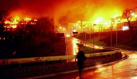 Бомбардировка Белграда в 1999 г.