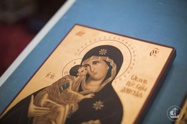 Санкт-Петербургская духовная академия молилась за первым в новом учебном году общим богослужением