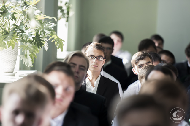 Навстречу молитве и знаниям: в Духовной академии открыт 2015/16 учебный год