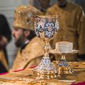 Архиепископ Амвросий совершил Божественную литургию и молебен о сохранении творения Божия