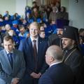 Архиепископ Амвросий приветствовал сотрудников и воспитанников «Нового поколения»