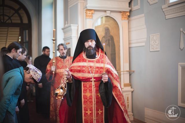 Духовная Академия молитвенно вспоминает мученическую смерть Пророка, Предтечи и Крестителя Иоанна