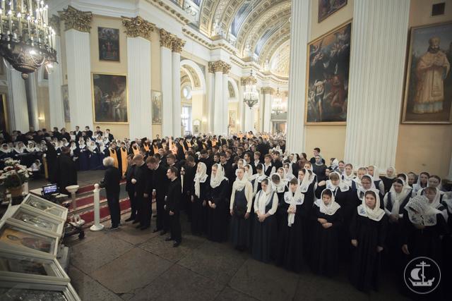 Северная столица совершает празднование в честь своего небесного покровителя
