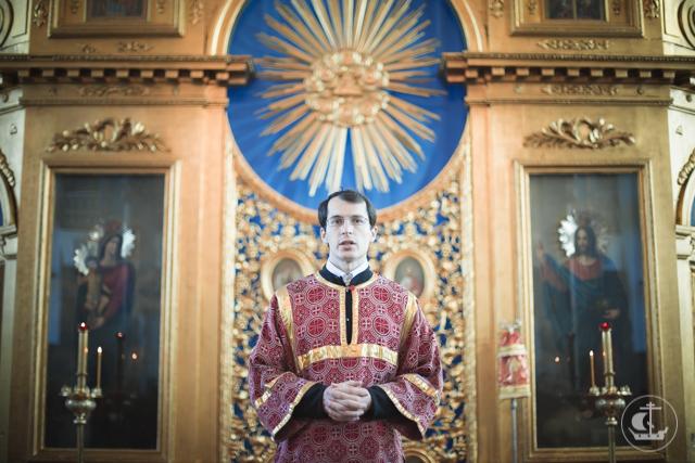 Впервые за 90 лет в академическом храме Двенадцати апостолов совершена диаконская хиротония
