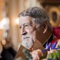 В день тезоименитства протоиерея Богдана Сойко три архиерея совершили Литургию в Николо-Богоявленском Морском Соборе