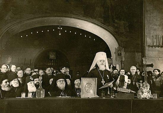 «КАКОЕ СЧАСТЬЕ СЛУЖИТЬ РУССКОМУ НАРОДУ В ОТЕЧЕСТВЕ!» Об участии митрополита Вениамина (Федченкова) в Поместном Соборе 1945 года и его впечатлениях от поездки в СССР