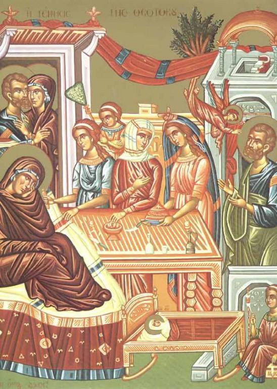 Речь старца Ефрема Ватопедского на Рождество Богородицы