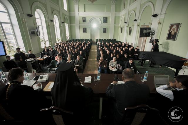 Первый день научной конференции о святом князе Владимире прошел в стенах Духовной Академии