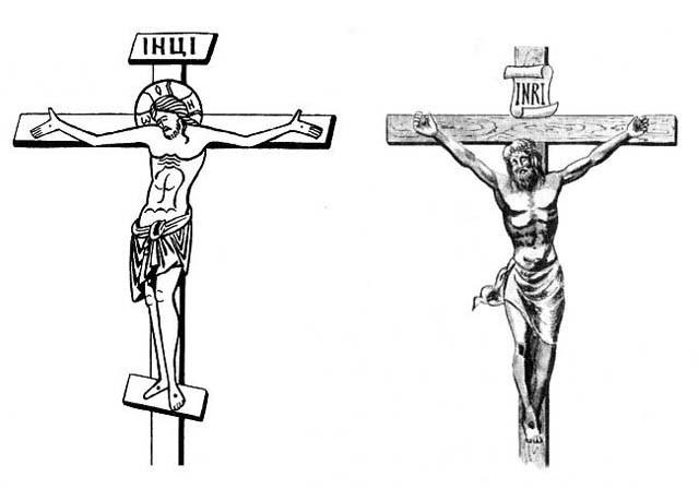 Просто крест