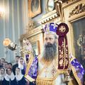 В праздник Воздвижения Креста Господня Литургию в Духовной Академии совершили три архиерея