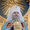 Торжественная Литургия совершена в храме Санкт-Петербургской Духовной Академии в день престольного праздника